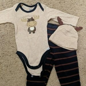 3pc Moose Outfit